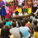 अपने सपने संस्था जरूरतमंद बच्चों का मनाया जन्मदिन