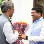 मुख्यमंत्री त्रिवेन्द्र ने केंद्रीय मंत्री धर्मेन्द्र प्रधान से की मुलाकात