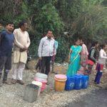 मुख्यमंत्री मोबाइल एप पर शिकायत और मैड मल्ला और तल्ला गाँव के लिए पहुंचा पीने का पानी।