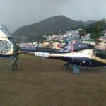 नीरा राडिया के हेलीकॉप्टर की तेज बारिश के चलते इमरजेंसी लेंडिंग