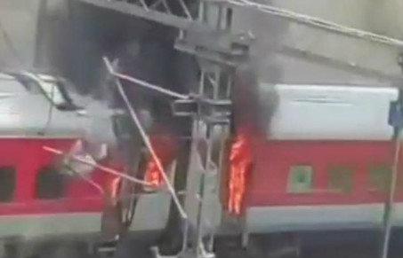 train-fire