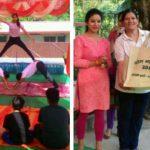 जानकी देवी एजुकेशनल वेलफेयर सोसाइटी द्वारा आयोजित योग महोत्सव का समापन्न