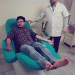 रोजा तोड़ जैन काज़ी ने नेहा को किया रक्तदान, मजहब से ऊपर इंसानियत, जानिए ख़बर