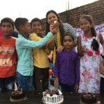 अपने सपने संस्था ने मनाया जरूरतमंद बच्चों का जन्मदिन