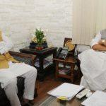 गृह मंत्री राजनाथ सिंह से मिले मुख्यमंत्री त्रिवेन्द्र सिंह रावत