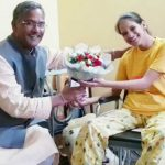 त्रिवेंद्र सरकार ने धाविका गरिमा जोशी के ईलाज के लिए उठाया 13 लाख 10 हजार रु का खर्चा