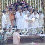 हरिद्वार में पूर्व पीएम अटल बिहारी बाजपेयी की अस्थियां गंगा में विसर्जित