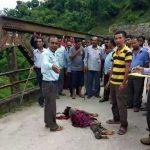 बच्ची से बलात्कार के बाद निर्मम हत्या, शव पुल पर फेंका