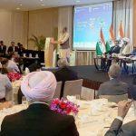 इनवेस्ट नाॅर्थ समिट में भाग लेने मुख्यमंत्री पहुंचे सिंगापुर
