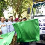 सीएम त्रिवेंद्र ने राहत सामग्री को हरी झंडी दिखाकर किया रवाना