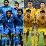 दो दशक के बाद भारत और चीन के बीच फुटबॉल मैच