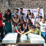 असहाय एवम जरूरतमन्द बच्चों का अपने सपने संस्था ने मनाया जन्मदिन