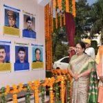 देव संस्कृति विश्वविद्यालय में राज्यपाल ने किया शौर्य दीवार का अनावरण