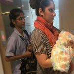 सानिया मिर्जा अपने बेटे संग हुई घर के लिए रवाना