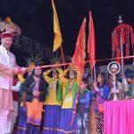 ऐतिहासिक गाथा पर किया गया नाट्य मंचन