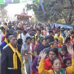 द्रोणनगरी में निकली भगवान जगन्नाथ की भव्य रथयात्रा