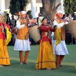 उपराष्ट्रपति एवम रक्षामंत्री ने उत्तराखण्ड  लोक संस्कृति की भुरि-भुरि प्रंशसा किये