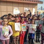 आर्ट के माध्यम से जरूरतमन्द बच्चों ने जवानों के पराक्रम को किया सल्यूट