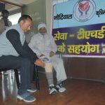 72 वर्षीय लक्ष्मण प्रसाद जब चले अपने पैरों पर , जानिए खबर
