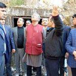 मुख्यमंत्री त्रिवेन्द्र ने सौंग बांध पेयजल योजना का किया स्थलीय निरीक्षण