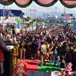 सीएम त्रिवेन्द्र अजबपुर रेलवे ओवरब्रिज का किया उद्घाटन