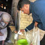 'महाशिवरात्रि ' पर असहाय एवं जरूरतमंद बच्चों को पिलाये दूध