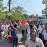 भाजपा नेता उमेश अग्रवाल का निधन, पंचतत्व में विलीन
