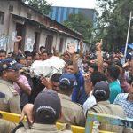 108 कर्मचारियों ने उत्तराखण्ड सरकार की शवयात्रा निकाली