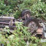 पौड़ी जिले में बस खाई में गिरी, तीन लोगों की मौत