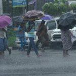 राज्य के आठ जिलों में भारी बारिश की चेतावनी, प्रशासन सतर्क