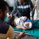 खाई में गिरी स्कूल वैन , नौ बच्चों की मौत