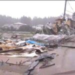 जापान में 60 साल का सबसे भीषण तूफान