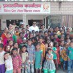 """""""भिक्षा नहीं शिक्षा"""" अभियान के तहत पुलिस ने कराया 115 बच्चों का स्कूलों में दाखिला"""