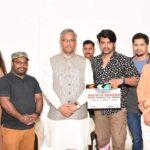 शूट की जा रही फिल्म ''सौम्या गणेश'' का सीएम त्रिवेंद्र ने मुहूर्त शॉट लिया