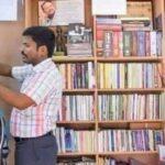 जरा हटके : सैलुन में टीवी और अखबार न लगाते हुए बना रखी है 1500 पुस्तकों की लाईब्रेरी