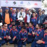 ब्लाइड क्रिकेट टी-20: भारत ने नेपाल को हराकर क्लीन स्वीप किया