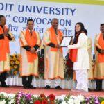 डीआईटी विश्वविद्यालय : दीक्षांत समारोह में 1527 छात्रों को प्रदान की गई उपाधियां