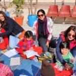 थ्रिल ज़ोन ट्रस्ट आश्रम के बच्चों के साथ मनाया नव वर्ष