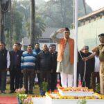मुख्यमंत्री त्रिवेंद्र ने किया ध्वजारोहण