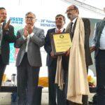 डॉ. अजीत पाठक 14वीं राष्ट्रीय विज्ञान कांग्रेस में सम्मानित