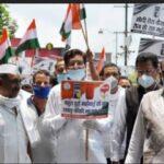 उत्तराखंड : पेट्रोल, डीजल में लगातार की जा रही  वृद्धि के विरोध में कांग्रेस ने किया प्रदर्शन