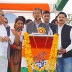 हरीश रावत ने एक अरब छब्बीस करोड की योजनाओं का किया लोकार्पण