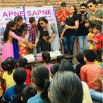 अपने सपने संस्था ने मनाया जरूरतमंद बच्चो का जन्मदिन