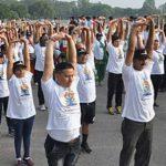 """अंतरराष्ट्रीय योग दिवस के प्रति जन जागरूकता के लिए """"रन फॉर योग"""""""