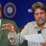 अध्यक्ष पद से पूर्व भारतीय कप्तान कपिल देव ने दिया इस्तीफा