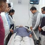 पौड़ी सांसद तीरथ सिंह रावत घायल, ऋषिकेश एम्स में भर्ती