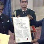 दादा साहब फाल्के पुरस्कार से सम्मानित हुए अमिताभ बच्चन