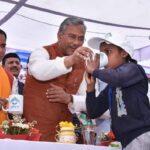 उत्तराखंड : सीएम ने मुख्यमंत्री आँचल अमृत योजना का किया शुभारम्भ